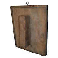 AAFA Primitive Wood Scrub Box in Attic Surface