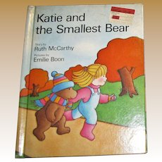 Katie and the Smallest Bear by Ruth McCarthy, HC 1985, 1st American Edition