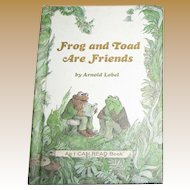 Frog and Toad are Friends by Arnold Lobel, 1970 HC, Like New