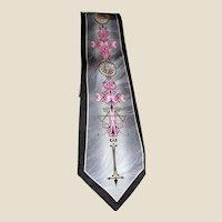 Sophisticated Celtic Design Silk Tie by Franco Di Napoli