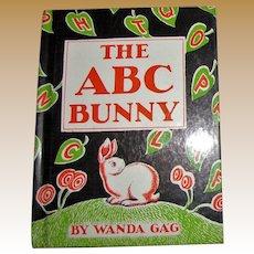 The ABC Bunny by Wanda Gag, c.1933, 1961, 7th printing, HC, Like New