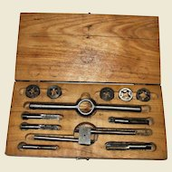 Vintage STAR Miniature Tap and Die Set in Original Box, Made in USA