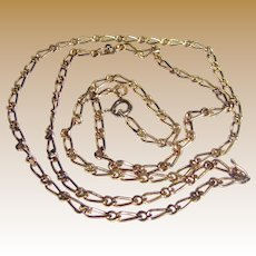 "24"" Danecraft 24 Karat Gold Over Sterling Chain"