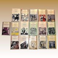Set of 16, Oxford Pocket / World Classics, 1986 HCDJ, Classic Literature, Like New