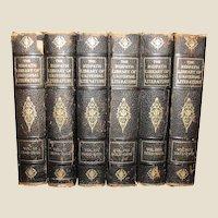 Ridpath Library of Universal Literature 6 Volumes, Classics, 1910