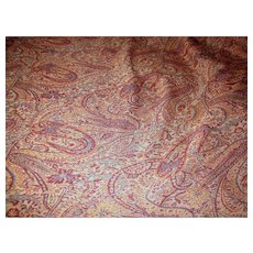 16 Yard Bolt End of Fully Woven Upholstery Fabric, Rich Colors!