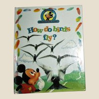 """Disney Books - """"How do birds fly? & Other Facts"""" - Mickey Wonders Why by Alexandra Parsons"""