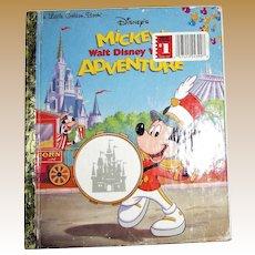 Mickey's Walt Disney World Adventure HC First Edition