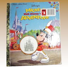 Mickey's Walt Disney World Adventure HC First Edition
