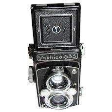 Yashica-635 Twin Lens Camera & Case