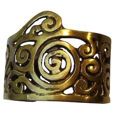 """Game of Thrones"" Cast Brass Cuff Bracelet"