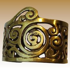 """Game of Thrones"" Cast Brass Cuff Bracelet"