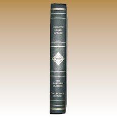 Marlowe Shakespeare, Harvard Classics Edition, HC, Edward II, Hamlet, King Lear, Macbeth & The Tempest