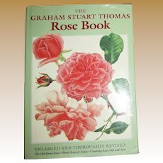 "The ""Rose Book"" by Graham Stuart Thomas HCDJ, Nearly New"