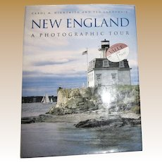 New England: A Photographic Tour by Carol Highsmith and Ted Landphair HCDJ Like New