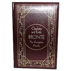 Charlotte and Emily Bronte The Complete Novels, Deluxe Edition, Leather Hardcover Gramercy, Nearly New