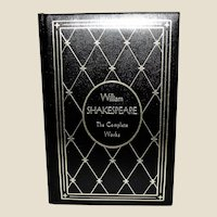 The Complete Works of William Shakespeare Padded Leather Bound, Illustrated, Gramercy, Nearly New