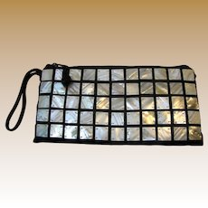 Mother of Pearl Embellished Wrist Purse by Shiraleah