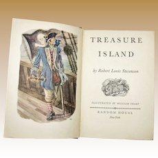 Treasure Island by Robert Louis Stevenson, 1949 HC Random House,  Illustrated