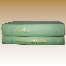 1950, Bronte Sisters 2 Volume Set Jane Eyre & Wuthering Heights, HC