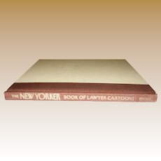 The New Yorker Book of Lawyer Cartoons, HC 1st Edition, Like New