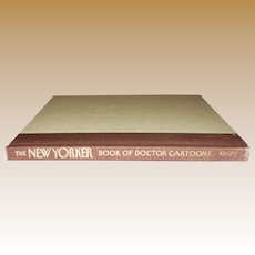 The New Yorker Book of Doctor Cartoons, HC 1st Edition, Nearly New