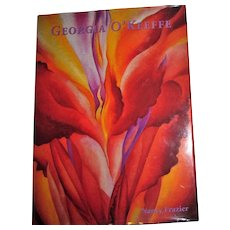 Georgia O'Keeffe by Nancy Frazier, HCDJ, Large, Like New