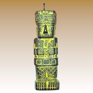 Latin American Deity Totem Pendant