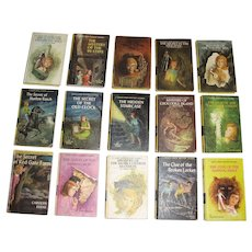 Nancy Drew Mystery Stories - Lot of 15 Hardcover Books - Carolyn Keene