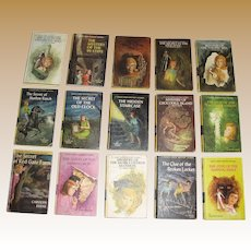 Nancy Drew Mystery Stories - Lot of 15 Hardcover Books - Carolyn Keene