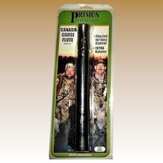 Primos Goose Call Canada Goose Flute w/ Lanyard, Still in Package