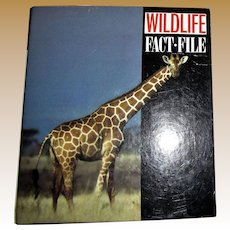 Wildlife Fact File Binder - Animal Identification and Conservation Guide