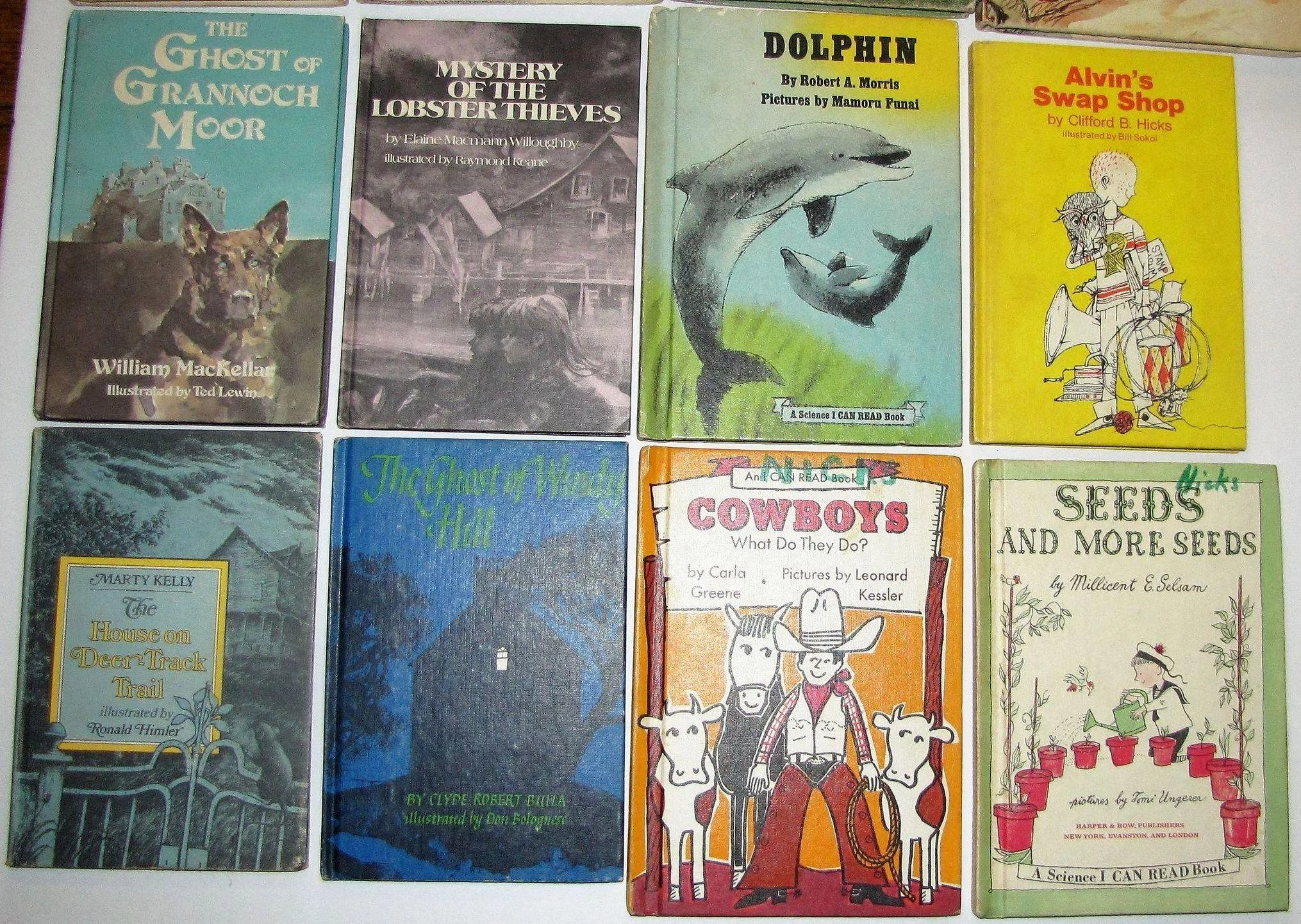 632a6d05d6c9 Fifteen 1950's to 1970's Children's Books. All Hard Cover
