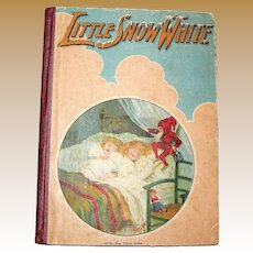 Little Snow White, Illustrated, No. 0503 Tom Thumb Series, Charles E. Graham Co. USA