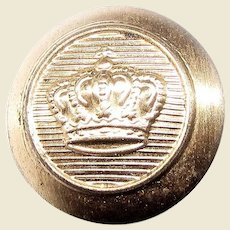 WW1 German Tunic Button, Prussian Crown