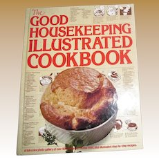 Vintage 1980 The Good Housekeeping Illustrated Cookbook ~ 900 Recipes  ~ HC, Nearly New