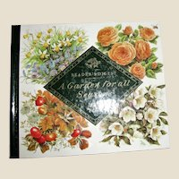 A Garden For All Seasons Readers Digest 1993 HC Illustrated Flowers & Plants