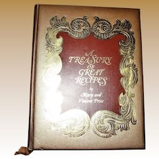 A Treasury of Great Recipes by Mary and Vincent Price, 1965 1st Edition