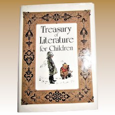 Treasury of Literature for Children, 1985, HCDJ, Great Illustrations! Nearly New