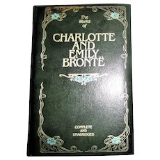 The Works of Charlotte and Emily Bronte, Unabridged, Bonded Leather 1981, Nearly New