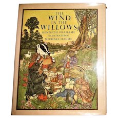 Kenneth Grahame - The Wind in the Willows - Michael Hague Illust's 1980 HCDJ Nearly New