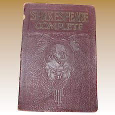 The Complete Works of William Shakespeare 1926 soft cover
