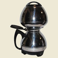 MCM Chrome Electric Vacuum Coffee Maker by Cory Corp, Model ACB, 8 Cup, Works Great