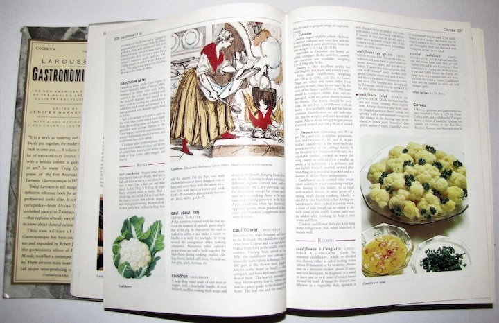1988 Larousse Gastronomique The New American Edition Of The