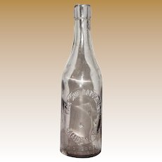 19th Century Clear Bottle, East Side Bottling Co. Camden NJ