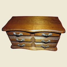 Vintage Fitted Small Jewelry Chest by Centurion