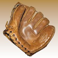 Vintage All Star Hall of Fame Baseball Glove, Pro Model F-1425, USA