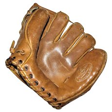 Vintage All Star Hall of Fame Baseball Glove, Pro Model F-1425, USA
