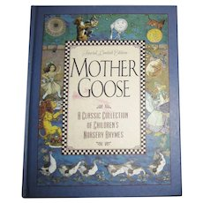 Mother Goose - Special Limited Edition, 1998 Grover, Illustrated, Like New