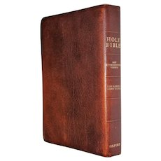 International Version Holy Bible, Brown Calf Leather, Some Hand Annotations